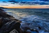 Sunlight beach — Stock fotografie