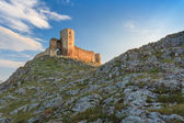 Antique fortress ruins. Enisala — Stock Photo