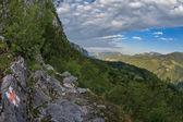 The Mehedinti Mountains — Stock Photo