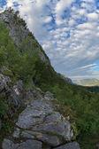 As montanhas mehedinti, Roménia — Fotografia Stock