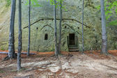 Joseph's hermitage. Attested in 1587 — Stock Photo