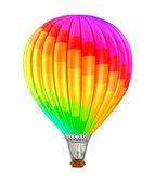 Colorfull шар, изолированные на белом фоне — Стоковое фото
