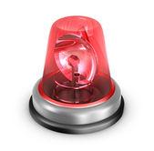 Lampeggiatore rosso — Foto Stock
