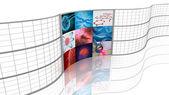 Medicine. Background displays. — Stock Photo