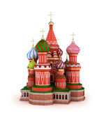 Cathedral on the Red Square in Moscow, Russia — Stock Photo