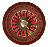 Casino roulette. Top view. — Stock Photo