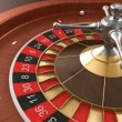 Casino roulette loop — Stockvideo