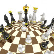 Chess planet concept — Stock Photo #27417831