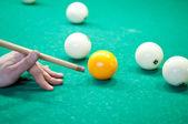 Billiard Player — Stock Photo