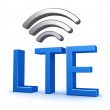 LTE Network Connection — Stock Photo #35601427