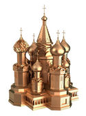 Gold Cathedral in Moscow — Stock Photo