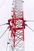 Telecommunication tower used to transmit television and 3g signa — Stock Photo