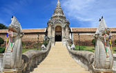 Wat Phra That Lampang Luang,famous temple in Lampang — Foto Stock
