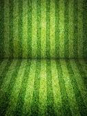 Campo de fútbol verde — Foto de Stock