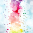 Abstract on a colorful background digital bokeh effect — Stock Photo #34731473