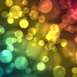 Abstract on a colorful background digital bokeh effect — Stock Photo #35346739