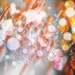 Stock Photo: abstract on a colorful background digital bokeh effect