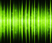 Abstract green colours on and black background spectrum — Stock Photo