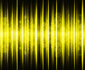 Abstract yellow colours on and black background spectrum — Stock Photo