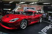 Dodge Viper SRT red — Stock Photo