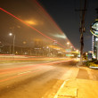 Long exposure night photo — Stock Photo