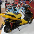 Постер, плакат: Motorcycle biz Sunra yellow