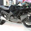 Постер, плакат: Motorcycle kawasaki ninja black model ZX 14R
