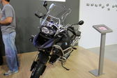 Motorcycle BMW 1200GS adventure — Stock Photo