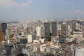 Center of sao paulo seen from the terrace italy — Stockfoto