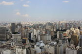 Center of sao paulo seen from the terrace italy — Stock fotografie