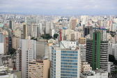 Sao paulo seen the Copan building — Stock Photo