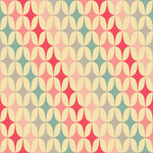 Abstract Retro Geometric seamless diagonal pattern. Vector Illustration — Stock Vector