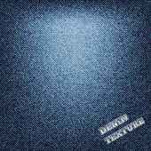 A blue denim background texture. — Stock Vector