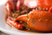 Chili crab — Foto Stock