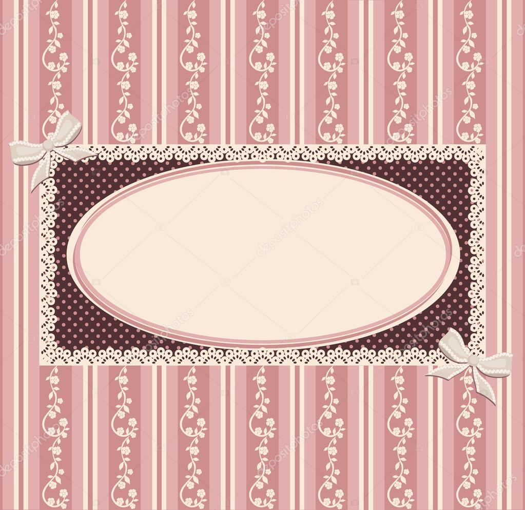 Retro style. Vintage the illustration for page of the menu, the announcement, the reference, the invitation, presentation etc. — Stock Vector #13186602