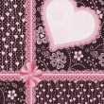 礼品装饰用的心。节日贺卡 — 图库矢量图片