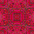 Unique geometrical ornament batik combined in raster seamless pattern.  — Stock Photo