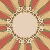 Christmas frame — Vector de stock