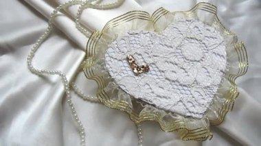 Bruiloft decoratie — Stockvideo