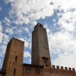 Town San Gimignano medieval architecture — Stock Photo