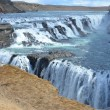 Gullfoss fall on the Iceland Sigrídarstígur waterfall — Stock Photo #31452715