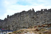 Pingvellir Iceland - the Thingvellir national park Althing — Stock Photo