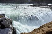 Gullfoss fall on the Iceland — Stock Photo