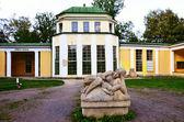 Spa colonnade Natalie in Franzensbad Czech republic — Stock Photo