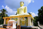 Statue o Buddha in Sri Lanka — Stock Photo