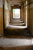 Old and abandoned corridor — Stock Photo