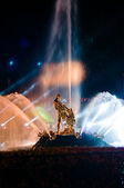 Samson fountain at Petergof, Russia — Stock Photo