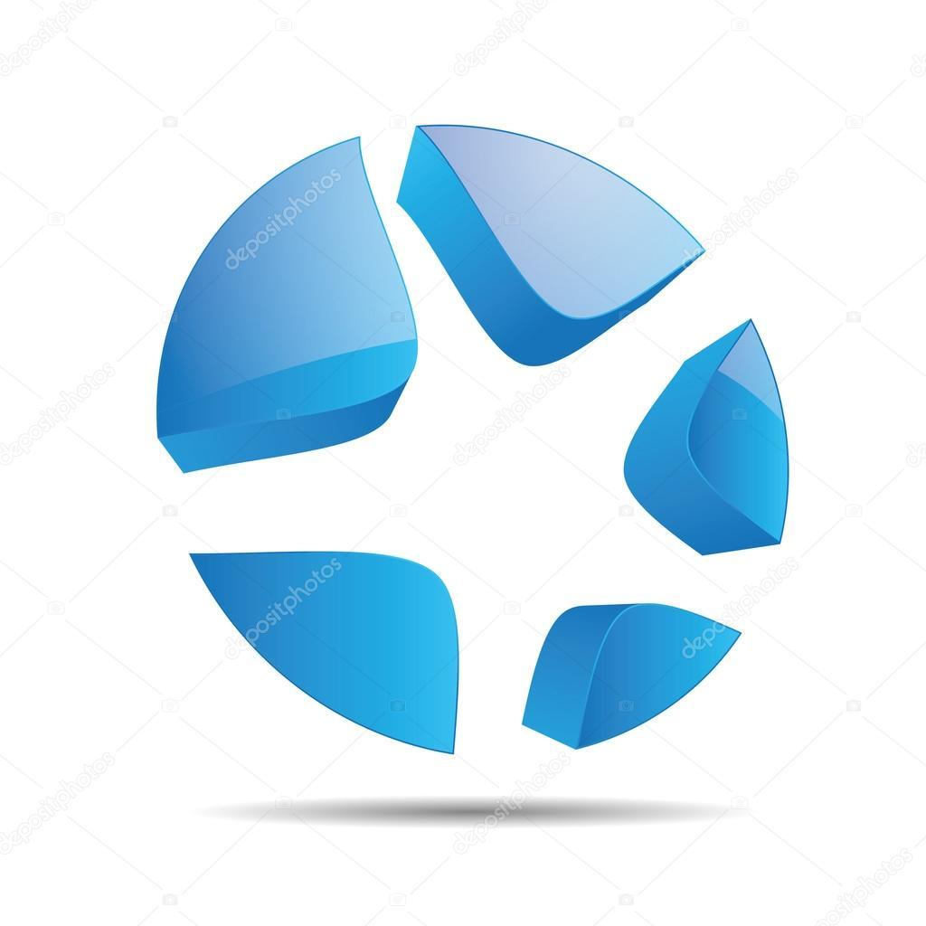 3d abstracto agua azul oc ano starfish estrella navidad - Blue ocean design ...