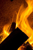 Chimney smoke fire flame burn energy cozy winter firewood chimney pattern black — Stock Photo