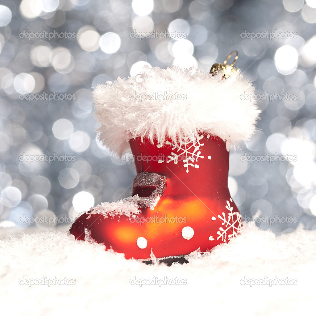 weihnachten schnee eis nikolaus winter stiefel. Black Bedroom Furniture Sets. Home Design Ideas